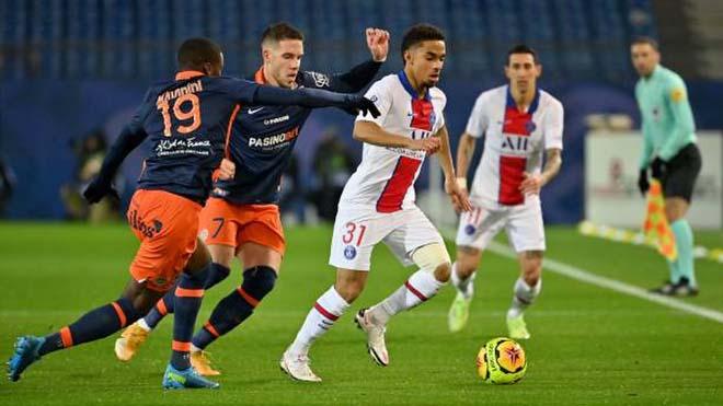 Video Montpellier - PSG: Mbappe định đoạt, chạy đà cho Champions League - 1