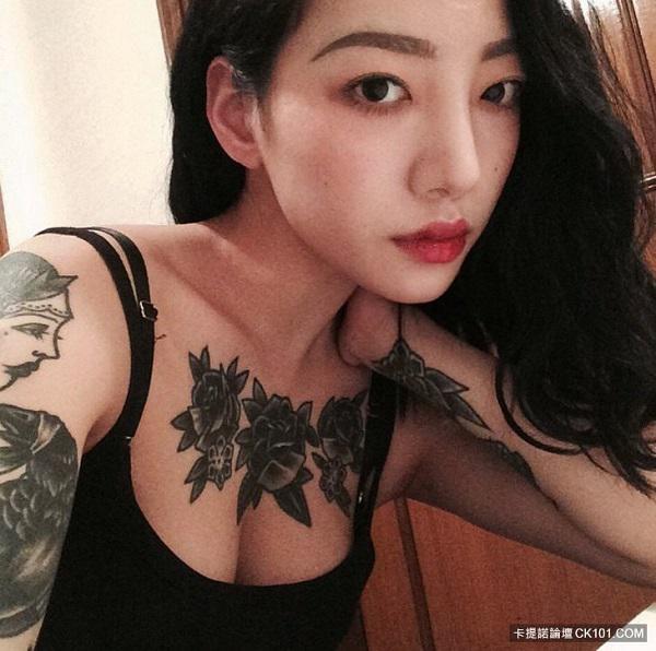 """Xao xuyến trước vẻ """"chất ngầu"""" của cô nàng thợ xăm Hàn Quốc sở hữu thân hình """"bốc lửa"""" - 3"""