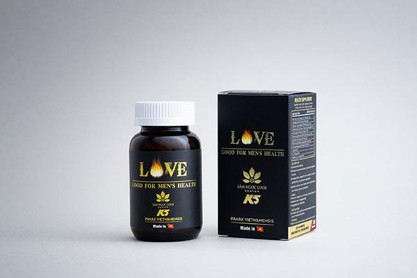 LOVE – sản phẩm chăm sóc sức khỏe, sắc đẹp mới của Sâm Ngọc Linh Kon Tum K5 - 1
