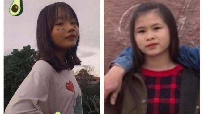 Công an vào cuộc tìm kiếm hai nữ sinh lớp 9 ở Chương Mỹ mất tích khi đi học - 1
