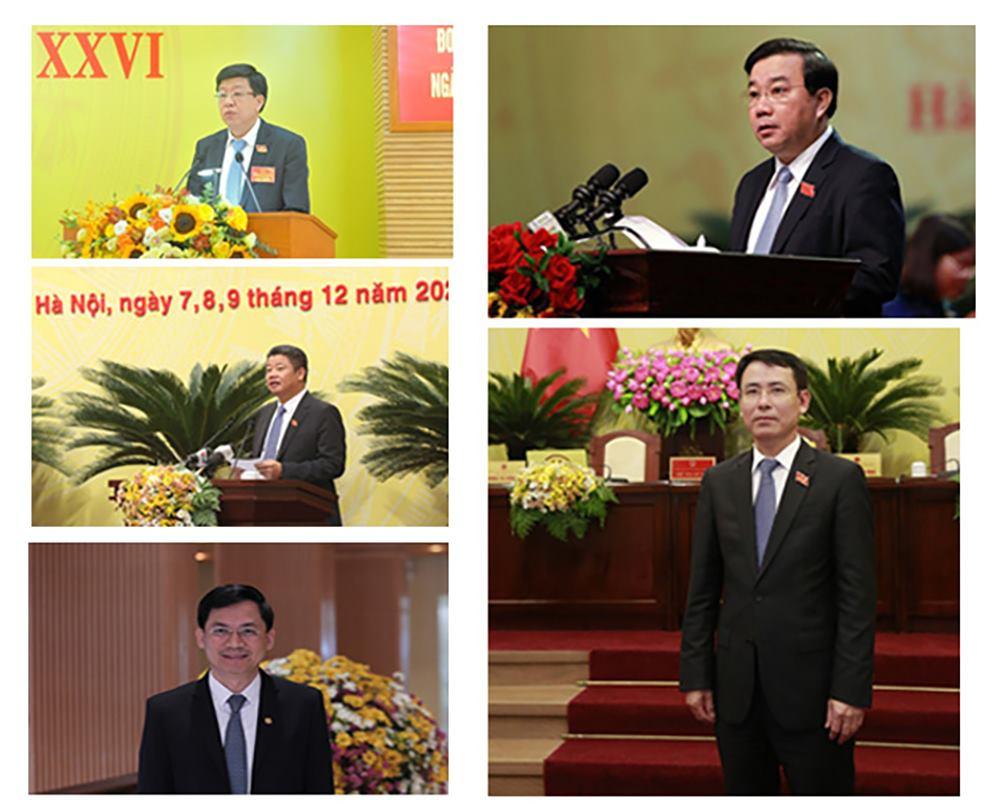 Hà Nội có 5 tân Phó chủ tịch UBND thành phố - 1