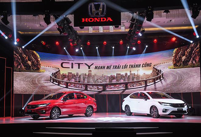 Honda City thế hệ mới ra mắt tại Việt Nam, giá từ 529 triệu đồng - 1