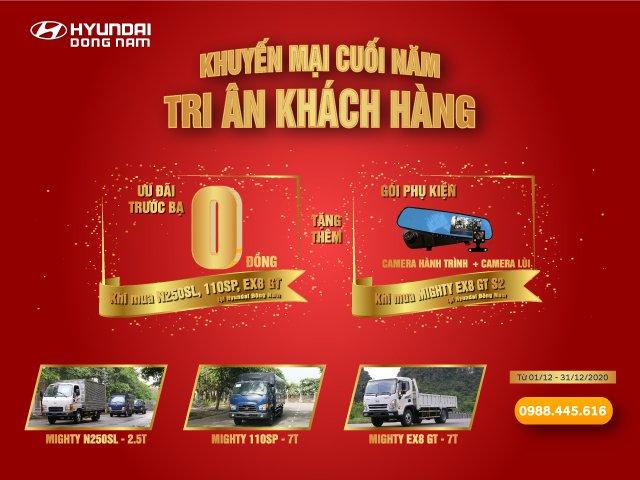"""Tri ân khách hàng, Hyundai Đông Nam """"miễn phí"""" trước bạ xe tải Hyundai - 1"""