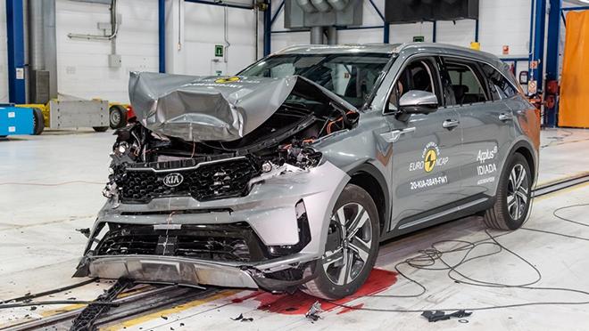Điểm qua những mẫu xe đạt 5 sao trong danh sách EURO NCAP - 1