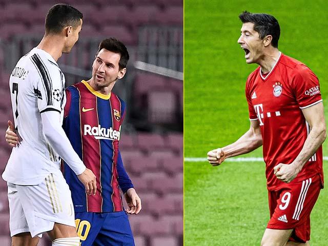 Ronaldo - Messi tranh FIFA The Best với Lewandowski, Neymar bị loại phản ứng gắt - 1