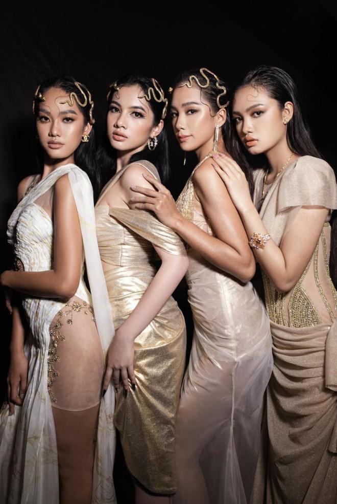Dàn người đẹp của Hoa hậu Việt Nam 2020 thần thái cuốn hút trên sàn catwalk - 1