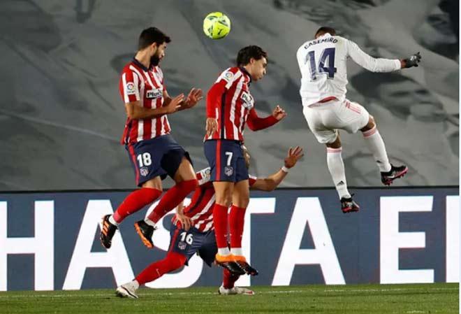 """Real hạ Atletico Madrid: Suarez """"tàng hình"""", đàn em Ronaldo nổi cáu - 1"""
