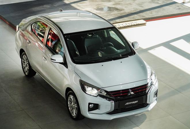 Giá xe Mitsubishi Attrage lăn bánh tháng 12/2020, ưu đãi 50% phí trước bạ - 1
