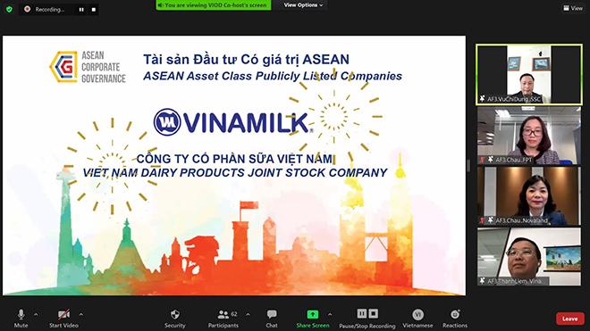 """Vinamilk là đại diện đầu tiên của Việt Nam được đánh giá thuộc top """"Tài sản đầu tư có giá trị của ASEAN - 1"""