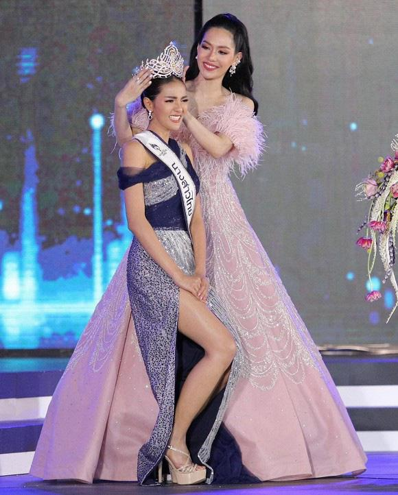Nhan sắc người mẫu đăng quang Hoa hậu Thái Lan 2020 - 1