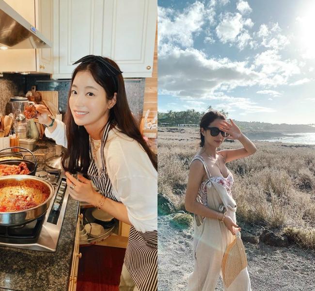 Ngoài ra, nữ diễn viên còn nổi tiếng với tài nấu ăn ngon, có kênh Youtube dạy nấu nướng.