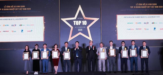 BRAVO vươn xa cùng Top 10 Doanh nghiệp công nghệ thông tin Việt Nam 2020 - 1
