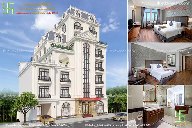 Tuyệt phẩm thiết kế thi công khách sạn thương hiệu Vạn An Group - 1