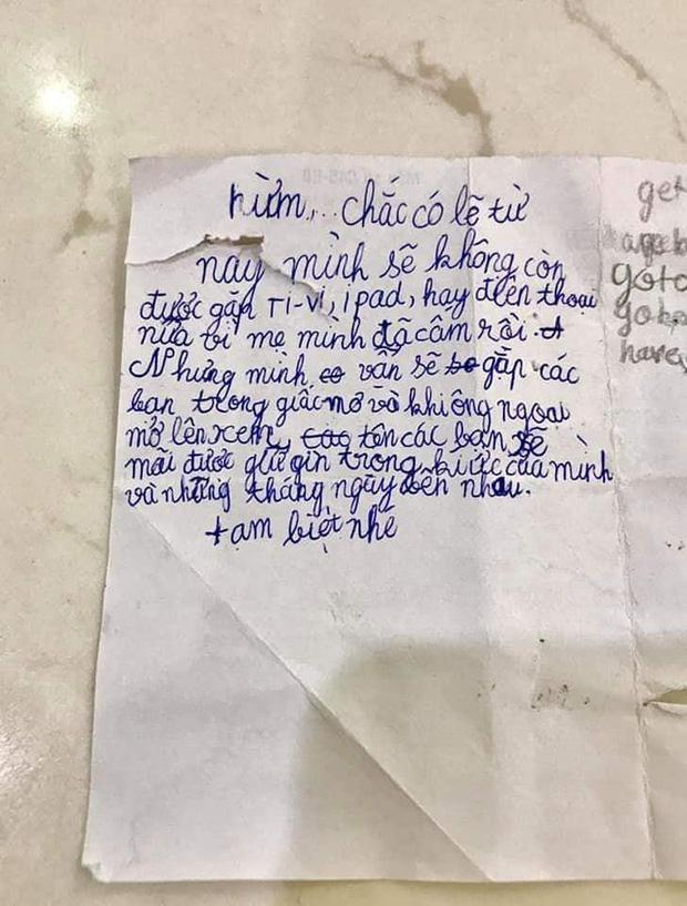 """Bị thu smartphone, cậu bé lớp 3 viết """"tâm thư"""" khiến ai nấy bật cười - 1"""