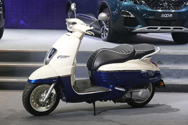 Peugeot Django lấy gì cạnh tranh Honda SH125? - 1