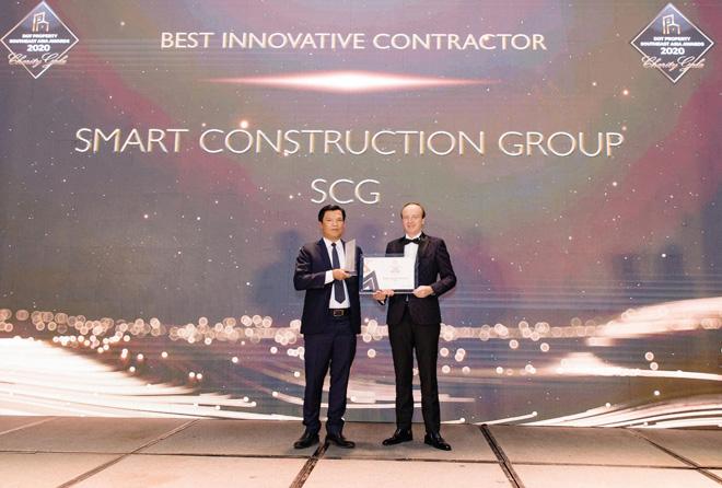SCG được vinh danh là Nhà thầu xây dựng đột phá nhất Đông Nam Á 2020 - 1