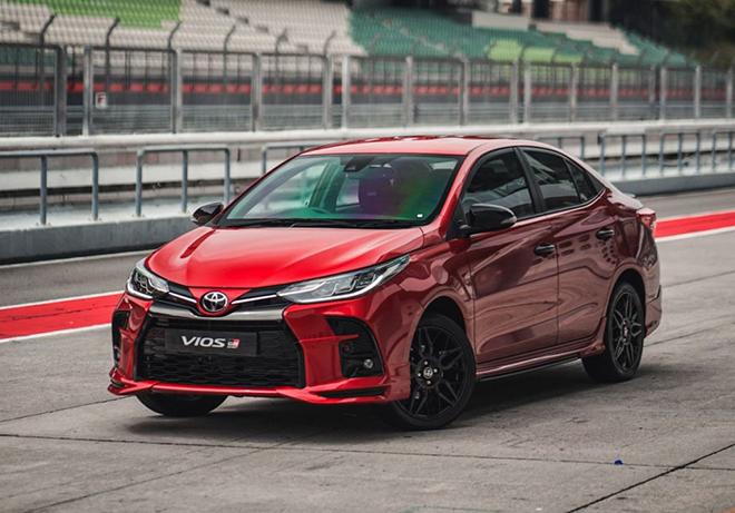 Cận cảnh Toyota Vios GR-S cực ngầu, mạnh và cá tính hơn - 1