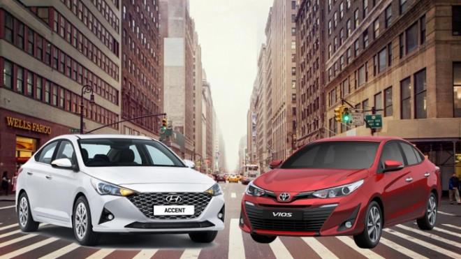 So sánh Toyota Vios 1.5G và Hyundai Accent cao cấp nhất - 1