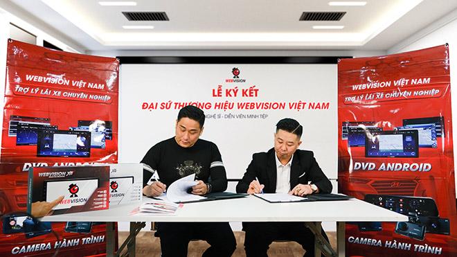 Diễn viên Minh Tiệp chính thức là đại sứ thương hiệu cho Webvision Việt Nam - 1
