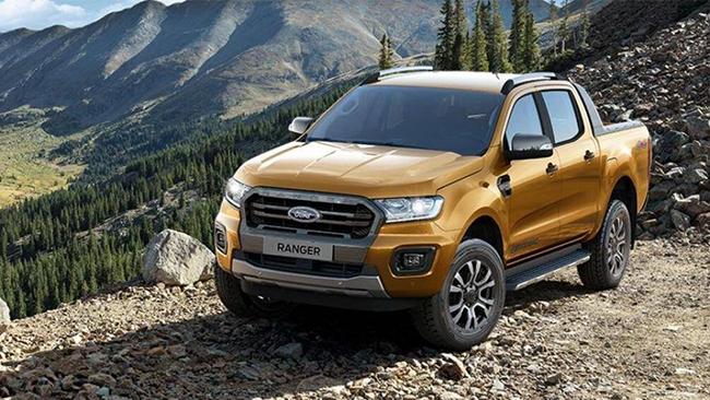 1. Ford Ranger 2020 (giá khởi điểm: 24.110 USD)