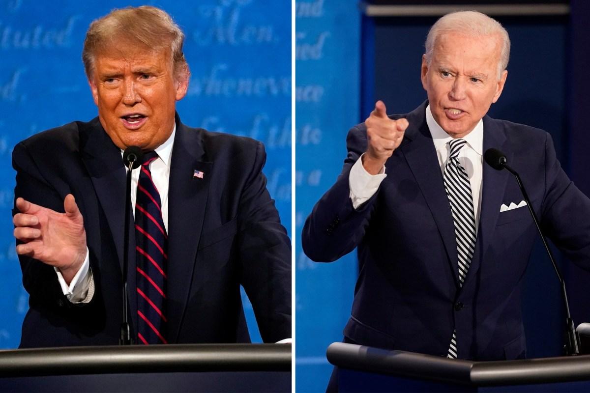 Ông Biden bất ngờ chỉ trích ông Trump - 1