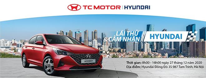 Hyundai Đông Đô tổ chức sự kiện lái thử lớn nhất năm - 1