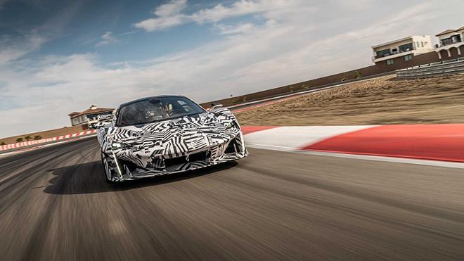 Siêu phẩm McLaren Sabre lộ diện, sức mạnh khủng khiếp tới 824 mã lực - 1