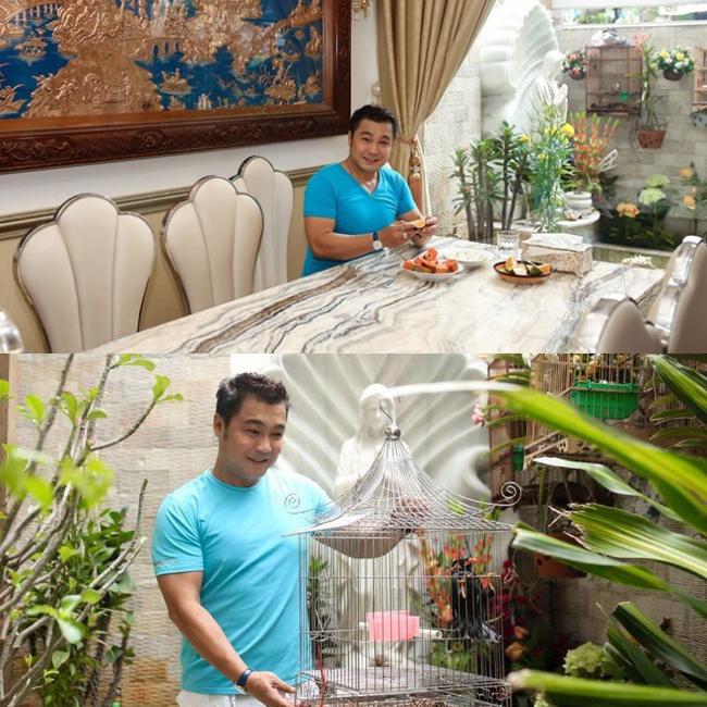 Đây là nơi thư giãn của Lý Hùngsau thời gian đi phim, chạy show và dành cho các thú vui tao nhã như nuôi chim, nuôi cá, trồng cây kiểng...