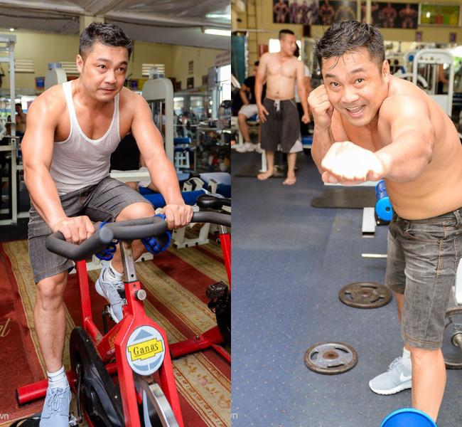 Nhờ chăm chỉ luyện tập, Lý Hùng sở hữu thân hình săn chắc và thể lực bền bỉ.