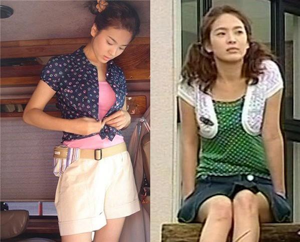 BLACKPINK và nhiều nữ idol rủ nhau mặc theo mốt Song Hye Kyo khởi xướng từ 16 năm trước - 1