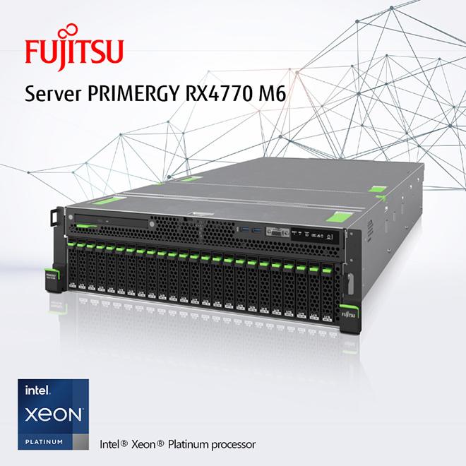 Thích nghi trong Thời đại số cùng máy chủ Fujitsu Primergy RX4770 M6 - 1