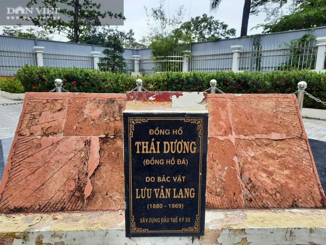 Bí ẩn chiếc đồng hồ đá 100 tuổi xem giờ bằng mặt trời duy nhất còn sót lại ở Việt Nam - 3