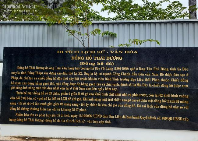 Bí ẩn chiếc đồng hồ đá 100 tuổi xem giờ bằng mặt trời duy nhất còn sót lại ở Việt Nam - 4