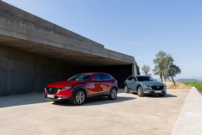 Mazda CX-30 ra mắt tại Nhật, thêm bản động cơ điện - 1