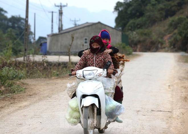 Hà Giang rét tê tái, người dân nổi lửa sưởi ấm cho gia súc - 2