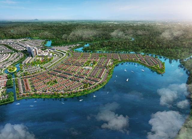 Đô thị đảo Phượng Hoàng - Nguồn cảm hứng của NTK Hoàng Minh Hà trong BST mới - 6