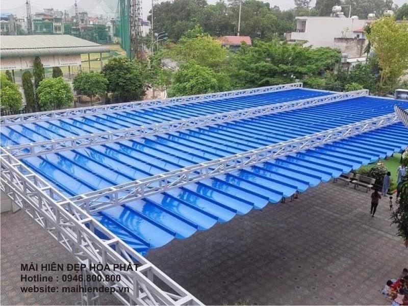 Mái hiên đẹp Hòa Phát - Nhà cung cấp sản phẩm mái cheuy tín chất lượng - 1