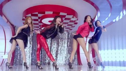 Vũ điệu sexy của kiều nữ Hàn Quốc - 1