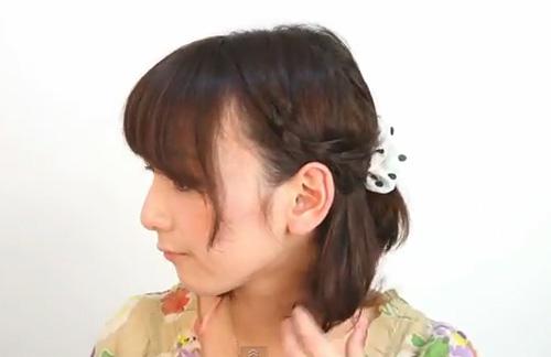 Biến tấu tóc ngắn theo kiểu Nhật - 1
